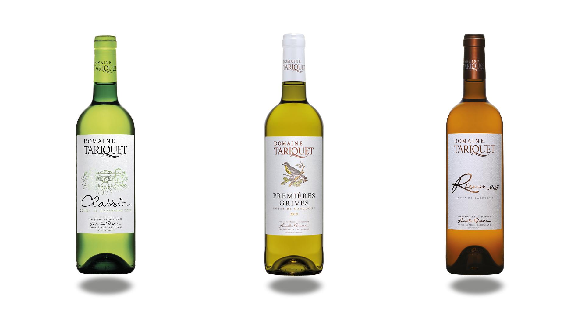 Les vins du Domaine Tariquet en vente chez CAVAVIN